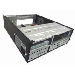 Gabinete K-Mex MATX GM07T7BN0C10BOX Micro c/ Fonte 200W Preto CX 1 UN