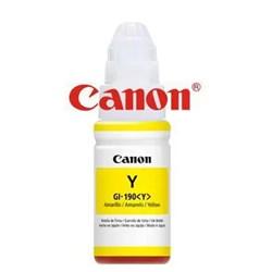 Garrafa de Tinta Canon GL-190 - 0670C001AA Amarelo 70ml Original CX 1 UN