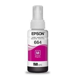 Garrafa de Tinta Epson T664320 Magenta 70ml Original CX 1 UN