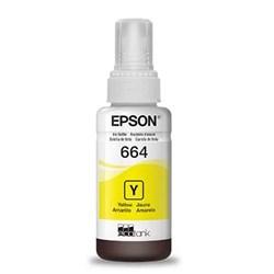 Garrafa de Tinta Epson T664420 Amarelo 70ml Original CX 1 UN