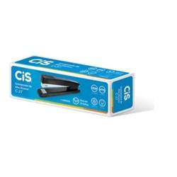 Grampeador Cis C-27 p/ 25Fls 26/6-24/6 Metálico Preto CX 1 UN