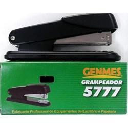 Grampeador Genmes 56A1 p/ 25Fls Preto CX 1 UN