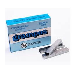 Grampo 23/8 Bacchi Galvanizado CX 5000 UN