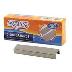 Grampo 26/6 BRW GR5000 Galvanizado CX 5000 UN