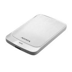 HD Externo Portátil 2TB Adata AHV320-2TU31-CWH Ultra Slin 2.5 USB Branco CX 1 UN