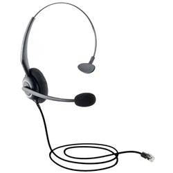 Headset p/ Telefone Intelbras CHS55 - 4012145 c/ Conector RJ9 Metal CX 1 UN