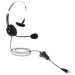 Headset USB Intelbras CHS40 USB - 4010041 Auricular Haste Metal CX 1 UN