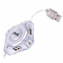 Hub USB 4 Portas Pisc 1828 Basic Prata BT 1 UN