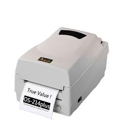 Impressora de Etiqueta Térmica Argox OS 214 Plus 99-21402-042 Serial, Paralela, USB Branca CX 1 UN