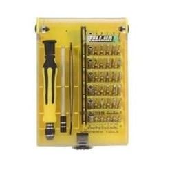 Kit de Ferramentas Notebook/Celular Telijia TE-6089 com Imã BT 45 PÇS
