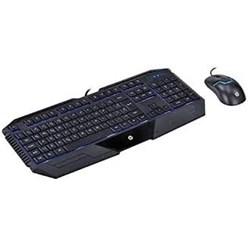 Kit Teclado e Mouse c/ Fio USB Gamer HP GK 1000 USB ABNT2 Preto CX 1 UN