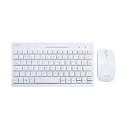 Kit Teclado e Mouse s/ Fio OEX Mini Winter TM-403 Branco ABNT2 CX 1 UN