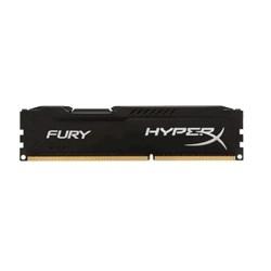 Memória Desktop 4GB DDR3 Kingston HyperX Fury - HX318C10FB/4 1866MHz CL10 Black BT 1 UN