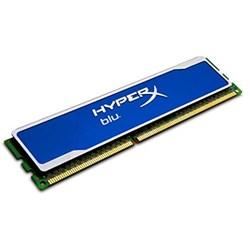Memória Desktop 4GB DDR3 Kingston HyperX Fury - KHX1600C9D3B1/4G 1600Mzh Blue 1 UN