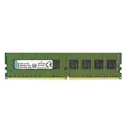 Memória Desktop 4GB DDR4 Kingston - KVR21N15S8/4 ValueRAM 2133MHz CL15 BT 1 UN