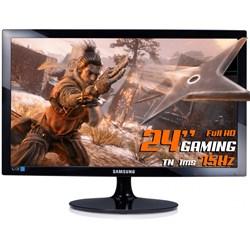 "Monitor Gamer LED 24"" Samsung LS24D332HSX/ZD Full HD VGA/HDMI/75Hz Preto CX 1 UN"