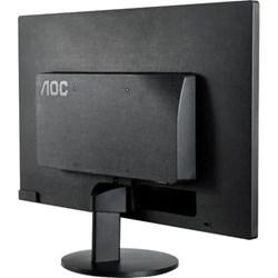 """Monitor LED 15,6"""" AOC E1670SWU/WM Slim WIdescreean VGA Preto CX 1 UN"""