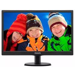 """Monitor LED 18,5"""" Philips 193V5LHSB2/57 Widescreen VGA/HDMI Preto CX 1 UN"""
