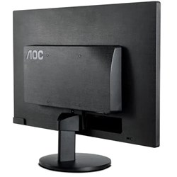 """Monitor LED 21,5"""" AOC E2270SWHEN Full HD VGA/HDMI/60Hz Preto CX 1 UN"""