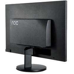 """Monitor LED 21,5"""" AOC E2270SWN Widescreen Full HD VGA Preto CX 1 UN"""