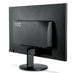 """Monitor LED 23,6"""" AOC M2470SWH2 FullHD HDMI,VGA, Vesa Preto CX 01 UN"""