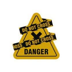 Mouse Pad c/ Imã Reliza Decor ColorFun Danger 05359 Neoprene BT 1 UN