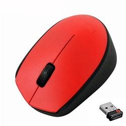 Mouse s/ Fio Logitech M170 Vermelho BT 1 UN