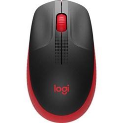 Mouse s/ Fio Logitech M190 910-005904 Preto/Vermelho BT 1 UN
