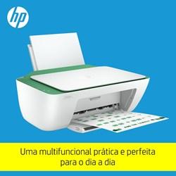 Multifuncional HP DeskJet Ink Advantage 2376 - 7WQ02A Jato de Tinta Colorida USB Branco/Verde CX 1 UN