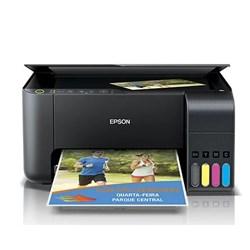 Multifuncional Tanque de Tinta Epson EcoTank L3150 Colorida Wi-Fi Preto CX 1 UN