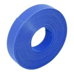 Organizador de Cabos Fita Velcro AD Connect AD 10141 Azul 20x3M 1 UN