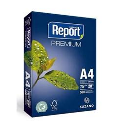 Papel A4 Sulfite Report Premium 75g Branco 210x297mm PT 500 FLS
