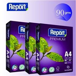 Papel A4 Sulfite Report Premium 90g Branco 210x297mm PT 500 FLS