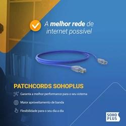 Patch Cord Cat.5E Furukawa Soho Plus 35103000 Azul 1,5Mts PT 1 UN
