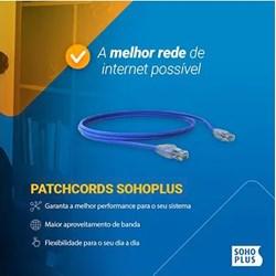 Patch Cord Cat.5E Furukawa Soho Plus 35103028 Azul 20Mts PT 1 UN
