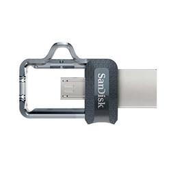Pen Drive 64GB Sandisk Ultra Dual Drive m3.0 SDDD3-064G-G46 BT 1 UN
