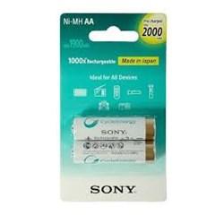 Pilha Recarregável AA Sony NH-AA-B2KN Branca 2000Mah BT 2 UN