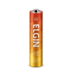 Pilha Zinco AAA Elgin R03  1,5v 1 UN