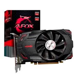 Placa de Vídeo 4GB Afox AMD Radeon RX550 - 4096D5H4-V4 GDDR5 HDMI/DVI/DP 128Bit CX 1 UN