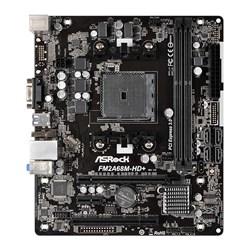 Placa Mãe AMD ASRock FM2A68M-HD DDR3 Socket FM2 A68H VGA/DVI CX 1 UN