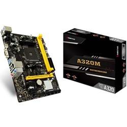 Placa Mãe AMD Biostar A320MH Socket AM4 VGA/HDMI/USB 3.0 CX 1 UN