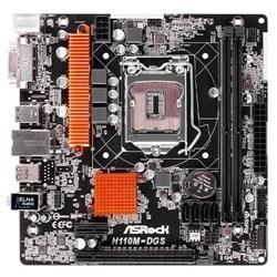 Placa Mãe Intel ASRock H110M-DGS DDR4 LGA1151 DVI/SOM/USB 3.0 CX 1 UN