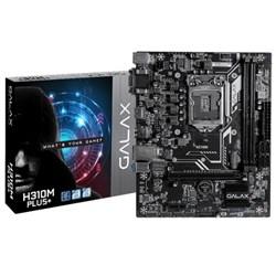 Placa Mãe Intel Galaxy H310M Plus+ LGA 1151 mATX HDMI/DVI/VGA 8/9 Geração CX 1 UN