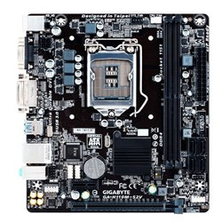 Placa Mãe Intel Gigabyte H110M-S2V LGA 1151 DDR4 VGA/DVI 6/7 Geração CX 1 UN