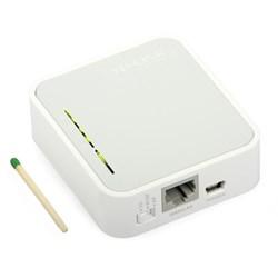 Repetidor de Sinal Wireless Tp-Link TL-MR3020 Mini 3G/4G Branco CX 1 UN