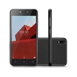 """Smartphone Multilaser E P9128, 32gb, Téla 5.0"""", Android 8.1, 5MP Preto CX 1 UN"""