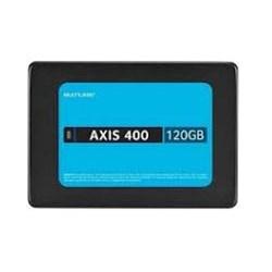 SSD 120GB Multilaser Axis 400 SS101 SATA 2.5 leitura 450MB/s CX 1 UN