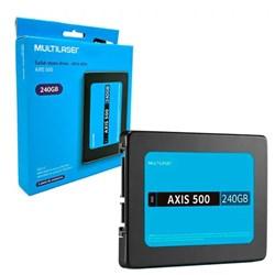 SSD 480GB Multilaser Axis 400 SATA III 2.5 430MB/s BT 1 UN