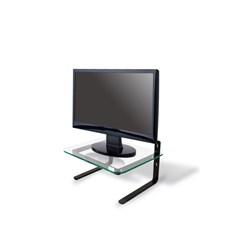 Suporte de Mesa para Monitor Reliza 203.002/011 c/ Tampo de Vidro Incolor CX 1 UN