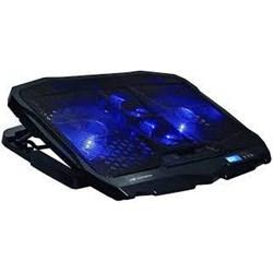 """Suporte p/ Notebook C3Tech NBC-100BK c/ 4 Coolers e Regulagem de Altura Até 17,3"""" Preto CX 1 UN"""
